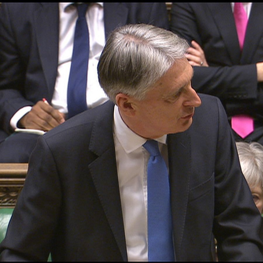 Phillip Hammond delivers his budget speech