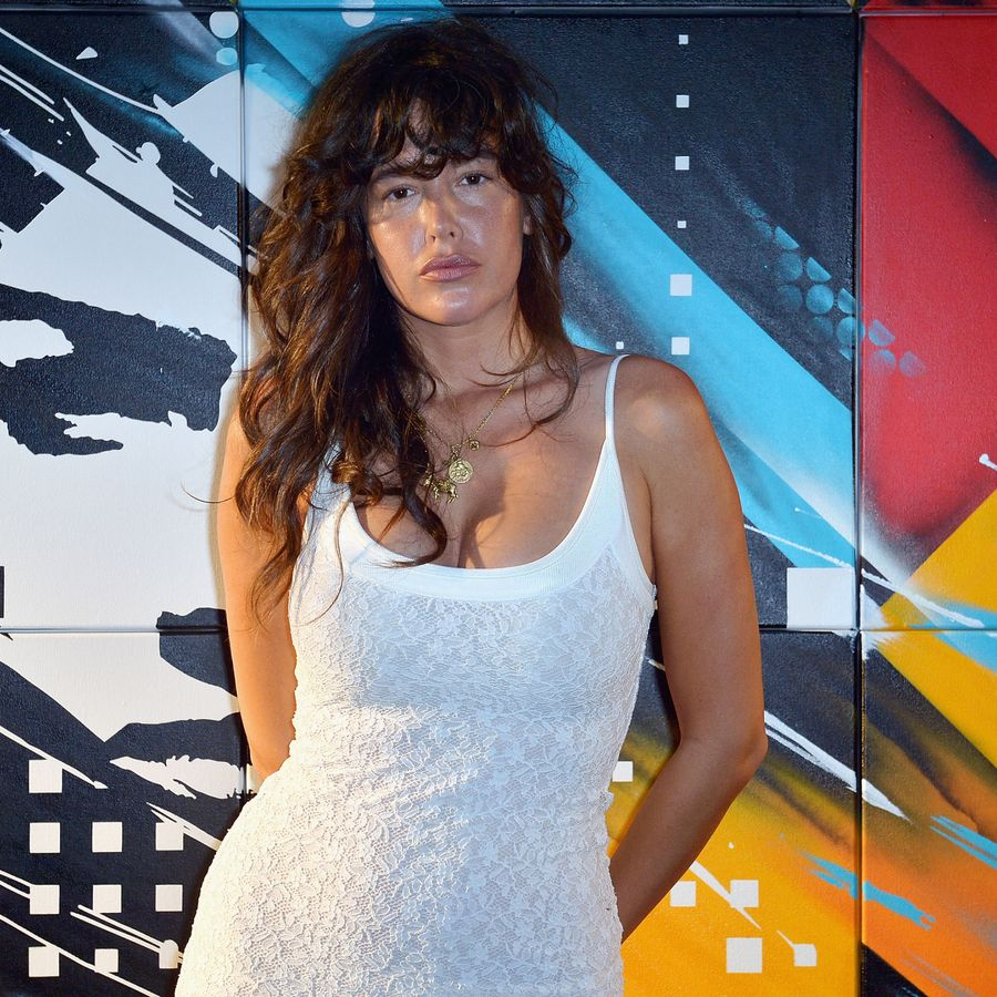 Paz de la Huerta attends AD Oasis at The Raleigh on December 8, 2012 in Miami, Florida.
