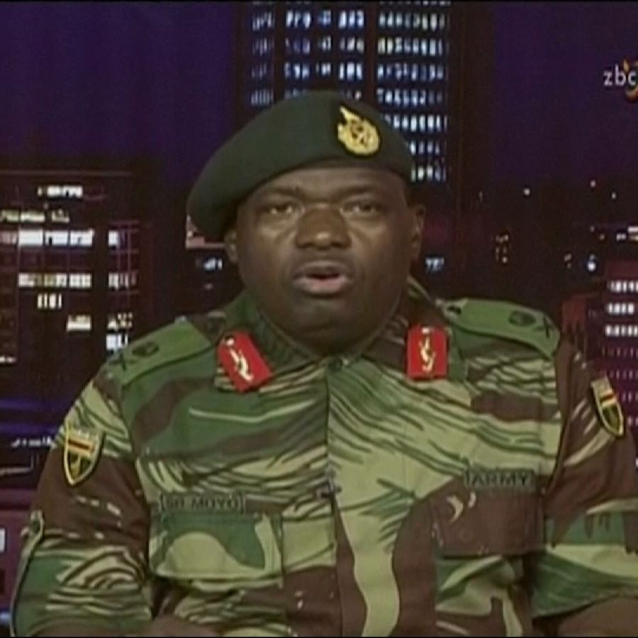 Major General Moyo insisted President Mugabe was safe