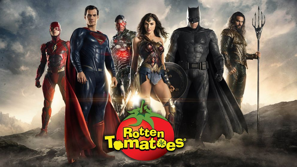 Justice League and Rotten Tomatoes