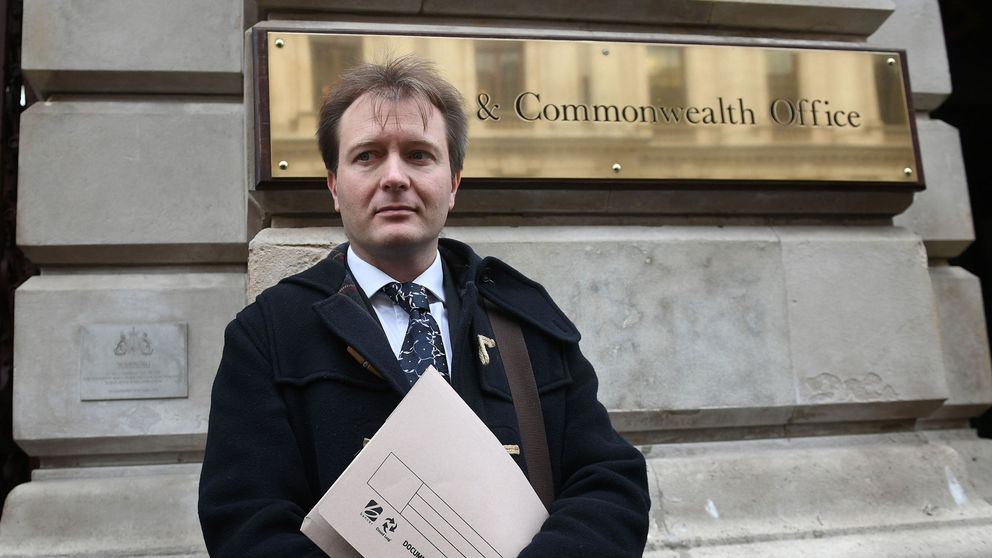 Richard Ratcliffe, the husband of Nazanin Zaghari Ratcliffe