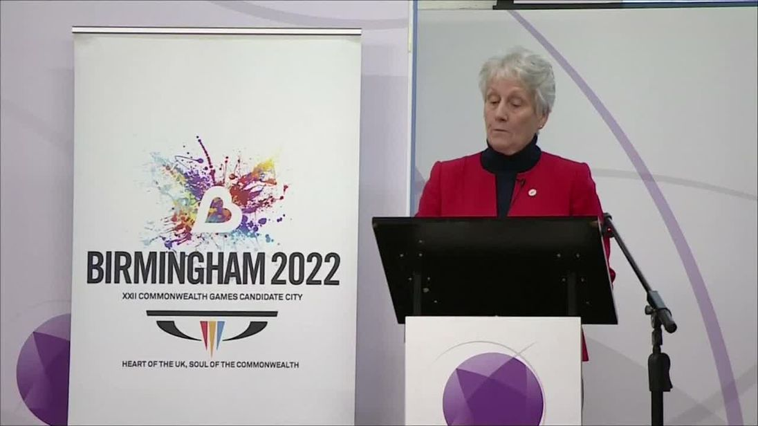 Birmingham chosen as host venue for the 2022 Commonwealth Games