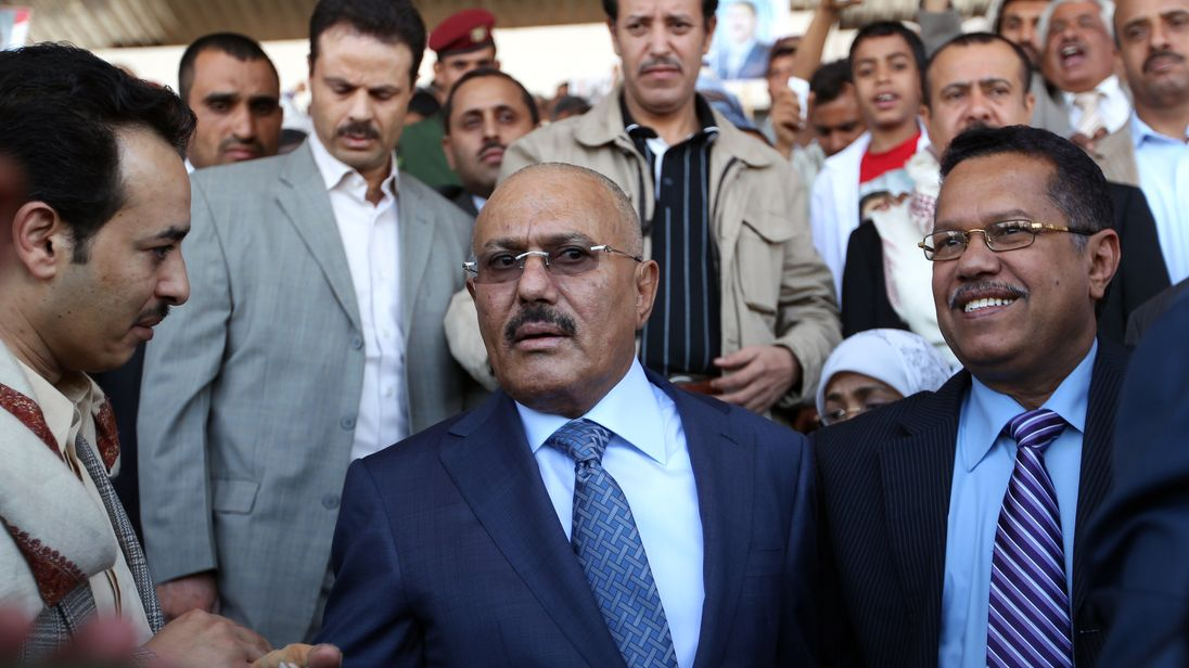 Image result for ali abdullah saleh