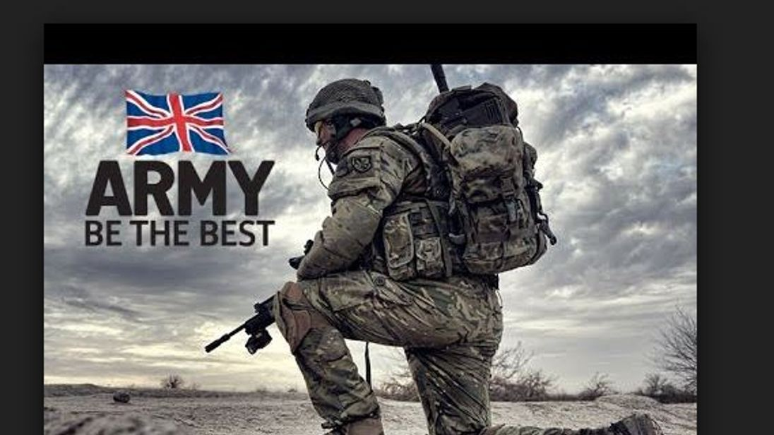 Defence Secretary halts plan to scrap 'Be the Best' slogan