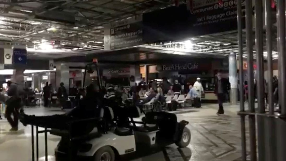 Power outage and bad weather leave thousands stranded at world's busiest airport