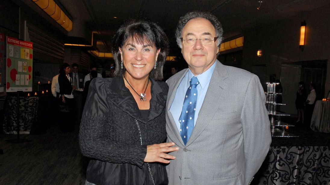 Apotex founder Barry Sherman and  his wife Honey pictured in 2010