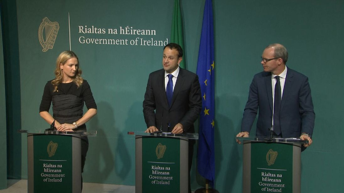 Leo Varadkar says Ireland does not want a hard border
