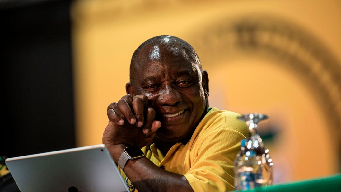 South Africa's ANC Holds Congress to Elect New Leader