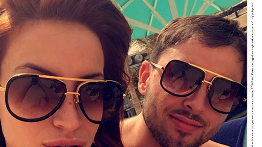 Ferne McCann's ex Arthur Collins jailed for 20 years over acid attack