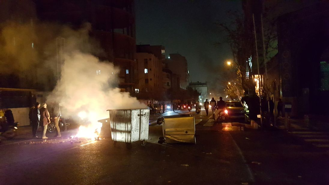 What's happening with Iran's ongoing protests?
