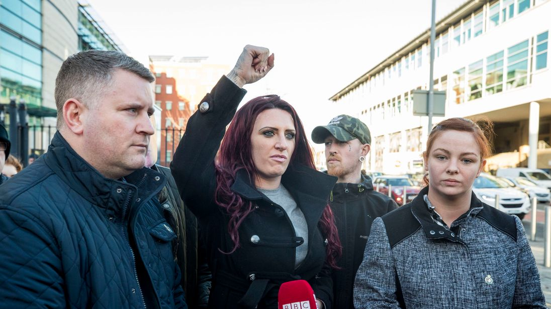 Facebook bans Britain First group and leaders