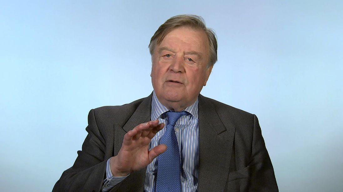 Conservative MP Ken Clarke.