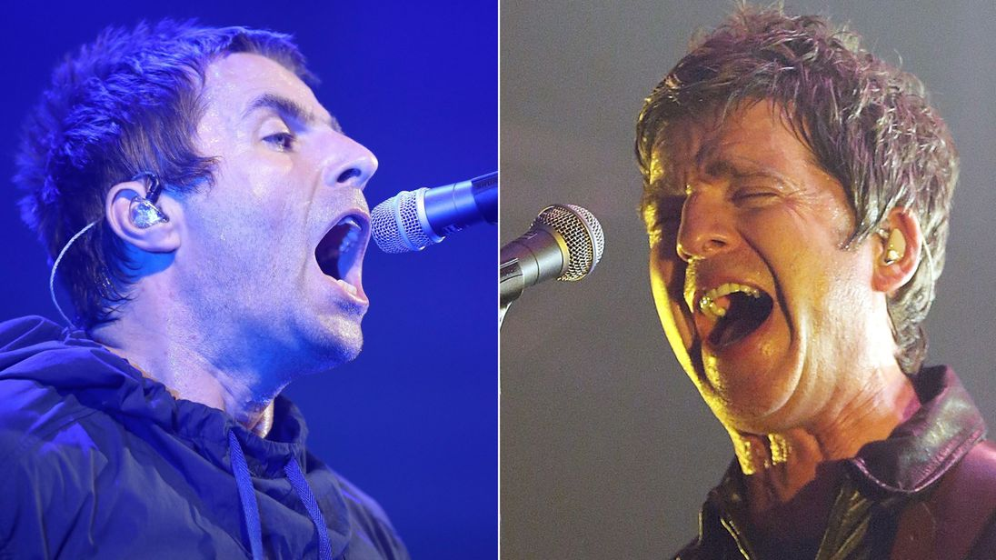 Liam and Noel Gallagher are