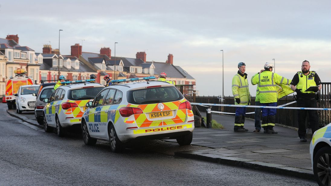Police are treating the death as 'unexplained'