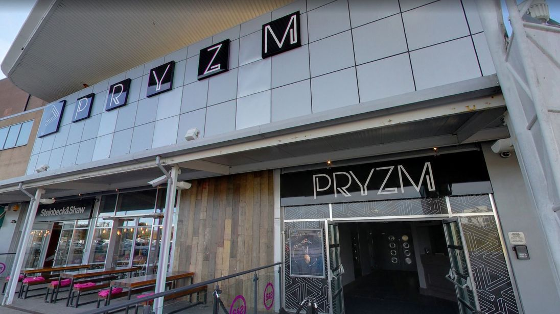 The nightclub in Plymouth where two people were found unconscious