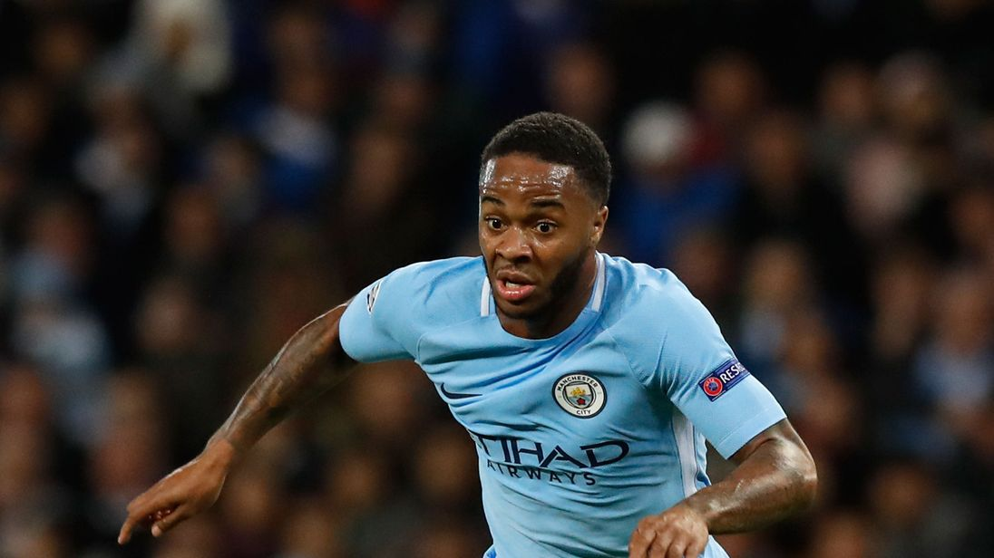 manchester city footballer raheem sterling completely shocked at