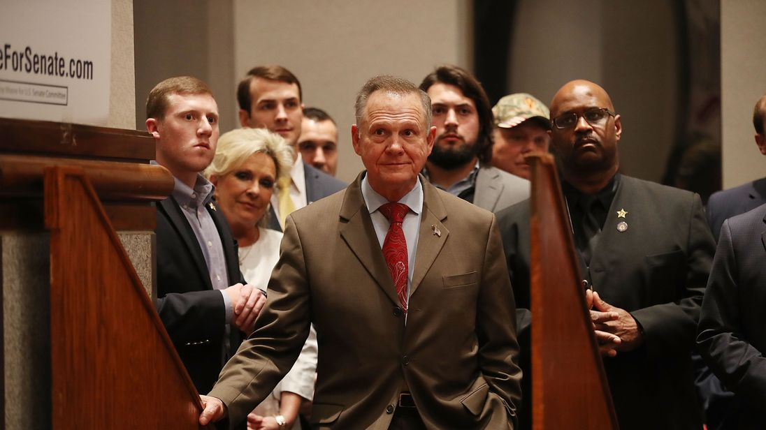 Roy Moore files last-minute lawsuit challenging Alabama result