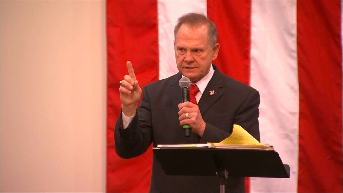 Roy Moore says the claims against him are politically motivated