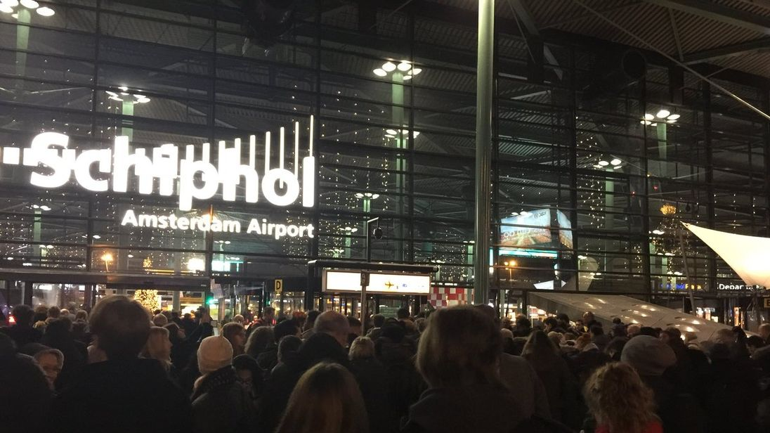 Police shoot man with knife at Amsterdam's Schiphol airport
