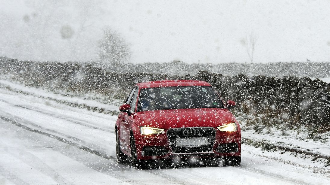 Weather warning for snow upgraded to amber