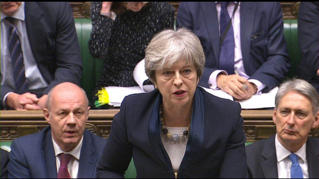 May facing rebellion over key Brexit bill
