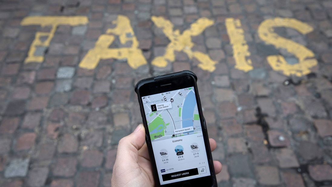 Uber to introduce limit on drivers' hours
