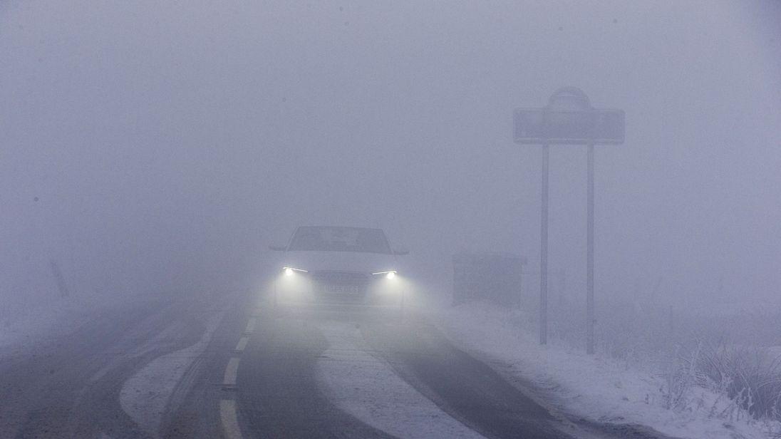 Met Office issues weather warnings as freezing fog hits UK
