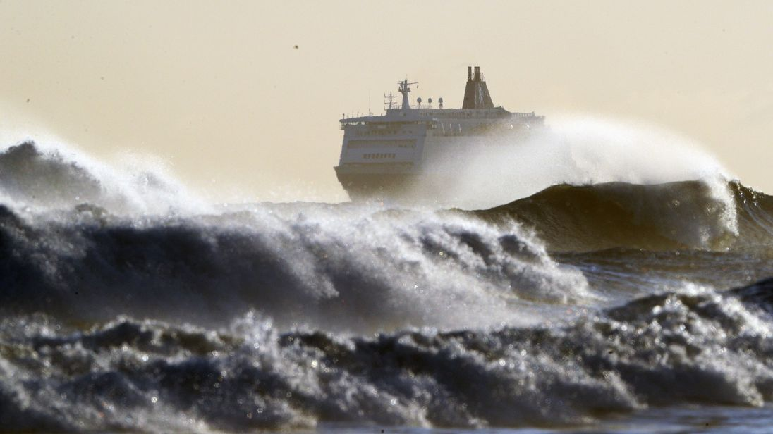 Storm Caroline is expected to bring choppy conditions to the North Sea