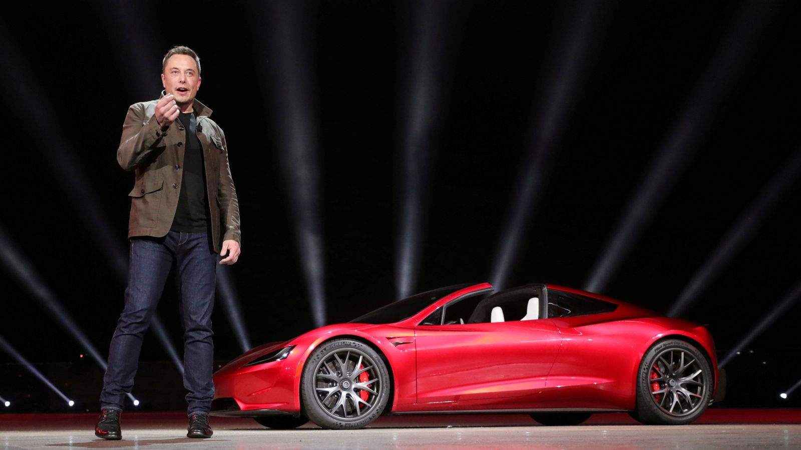 SpaceX boss Elon Musk to launch his electric car into orbit around Mars