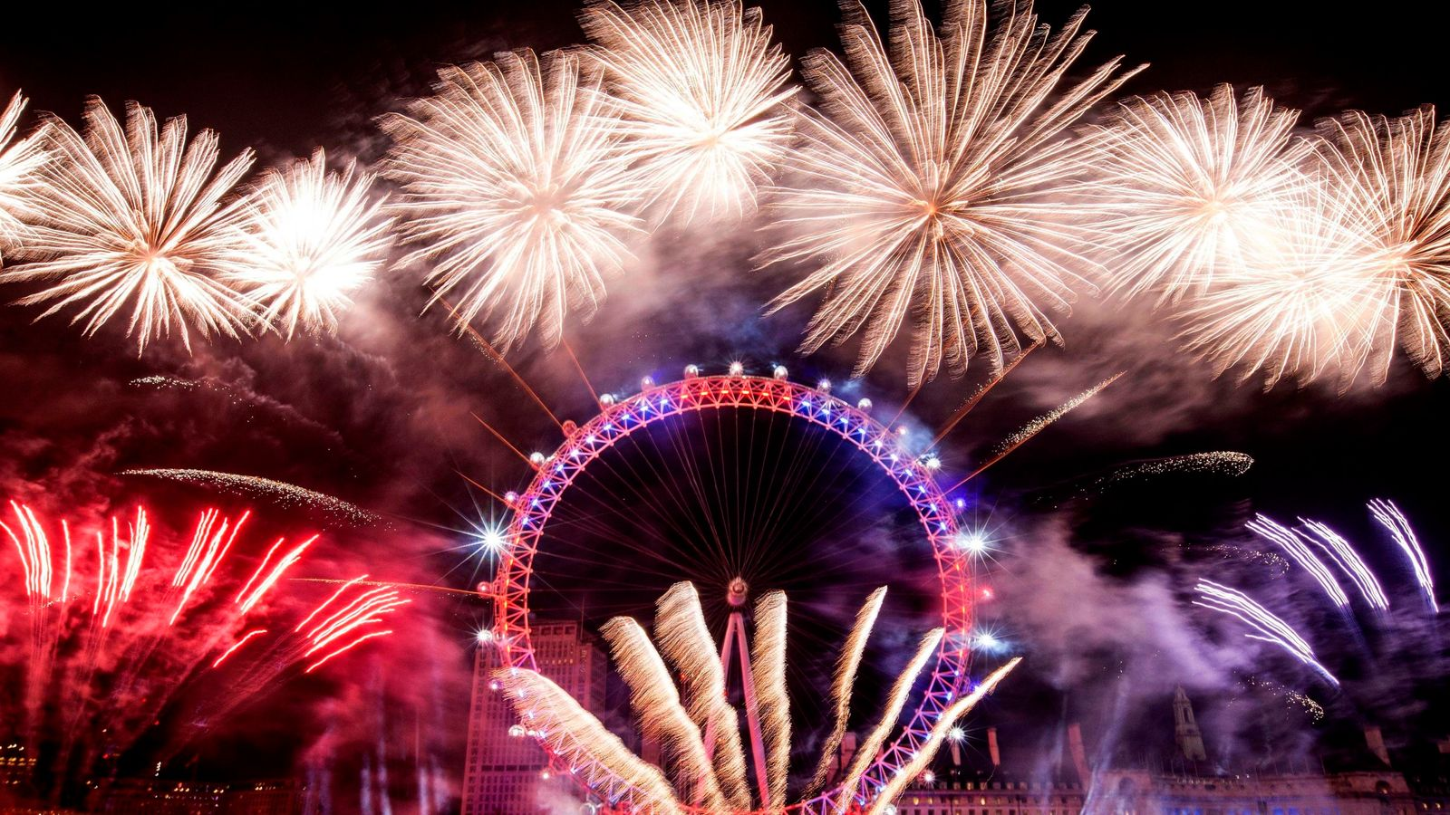 Security for New Year's Eve celebrations reviewed, Met Police says | UK News | Sky News