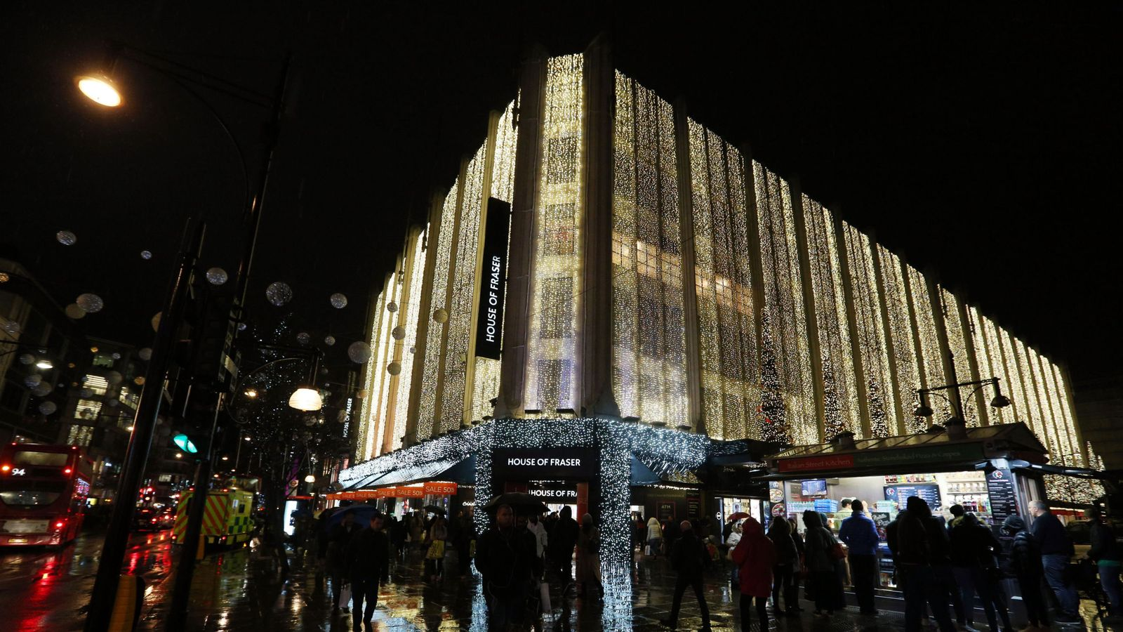 House Of Fraser: The Full List Of Stores That Will Close