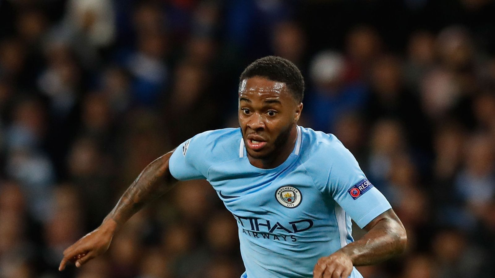 Manchester city footballer raheem sterling 39 completely for The sterling