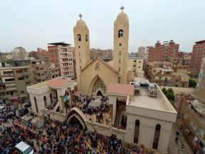 Coptic Christians make up 15% of Egyptians