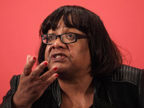 Labour Shadow Home Secretary Diane Abbott