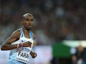 Mo won gold and silver at the world championships in London this summer