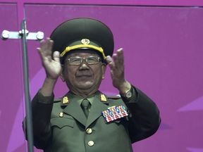 Hwang Pyong So was director of the military's General Political Bureau, the top military post
