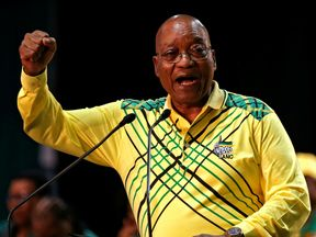 Jacob Zuma told delegates the party was at risk of imploding