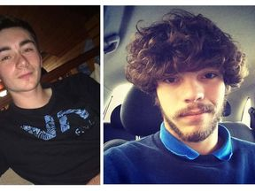 Aaron Reilly and Joshua Brock. Pic: Devon and Cornwall Police