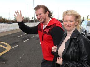 Nick Dunn with his sister Lisa