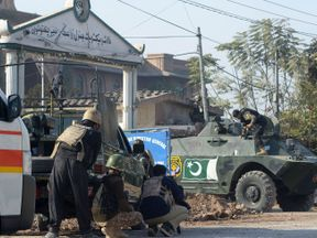 The attack targeted an agricultural training institute in Peshawar