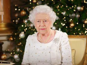 The Queen gives her Christmas broadcast for 2017