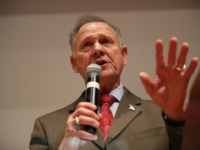 Republican candidate Roy Moore refused to concede defeat