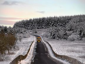 More heavy snow is expected to hit the UK