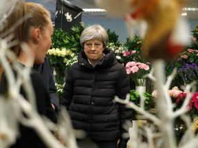 The Prime Minister pays a visit to a florist in Twyford on Small Business Saturday