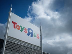 A general view of the exterior of a branch of the toy staore Toys R Us on September 19, 2017 in Luton, England.