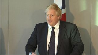 Boris Johnson says Brexit is 'unstoppable'