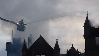 Two people died in the fire at the Cameron House Hotel in Loch lomond