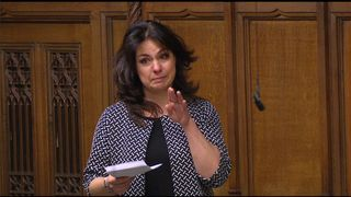 Heidi Allen cried after hearing a story about a suicidal man