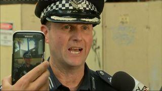 Victoria Police Commander Russell Barett