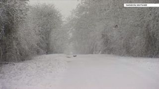 Big snowfalls bring travel chaos across the UK